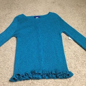 NWT!!! Button up long sleeve